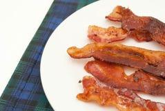 lagad mat bacon Royaltyfria Bilder