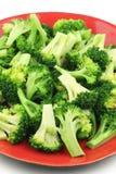 lagad mat broccoli Arkivfoton