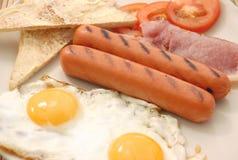 lagad mat frukost Arkivbild