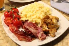 lagad mat frukost Royaltyfri Fotografi