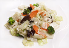 Lagad mat grönsak arkivbilder