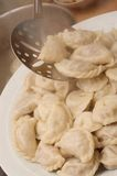 lagad mat husförälskelsepelmeni Royaltyfri Bild