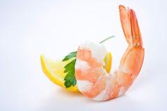 lagad mat läcker ny förberedd räka Royaltyfria Foton