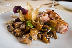 lagad mat meat Royaltyfria Foton