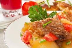 lagad mat meatpotatis Royaltyfria Foton