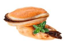 lagad mat musslahavstimjan fattar unshelled två Royaltyfria Foton