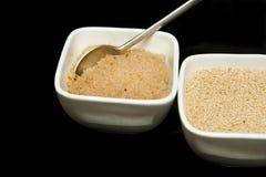 Lagad mat och uncooked amaranth Royaltyfri Fotografi
