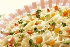 lagad mat pasta Royaltyfria Foton