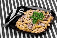 lagad mat pasta Royaltyfri Bild
