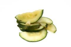 lagad mat zucchini Arkivfoton