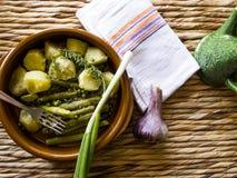 lagade mat grönsaker Royaltyfria Bilder