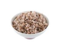 Lagade mat röda ris Fotografering för Bildbyråer
