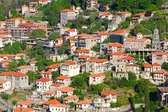Lagadia, Grecia Imagen de archivo