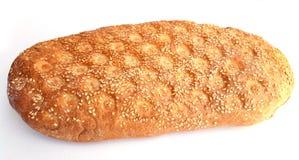 Lagana greco tradizionale del pane, cotto per lunedì pulito fotografia stock