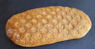Lagana greco tradizionale del pane, cotto per lunedì pulito immagini stock libere da diritti