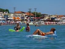 Laganas Beach, Zakynthos Stock Photos