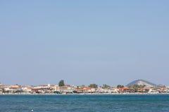 Laganas coast on Zakynthos island Stock Photos