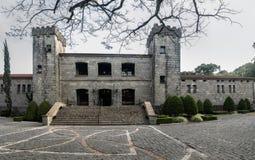 Lagar y restaurante del castillo de Lacave - Caxias hace Sul, Rio Grande foto de archivo