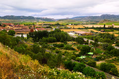 Lagares y granjas alrededor del Haro Rioja Imagenes de archivo