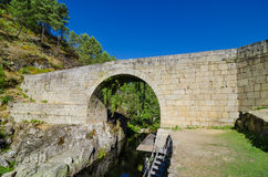 Lagarica bridge Royalty Free Stock Photography