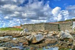 Lagarteira fortress in Vila Praia de Ancora Royalty Free Stock Photography