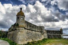 Lagarteira fortress in Vila Praia de Ancora Stock Photography