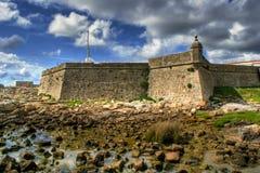 Lagarteira fortress in Vila Praia de Ancora Royalty Free Stock Photo