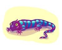 Lagarto púrpura Imagenes de archivo