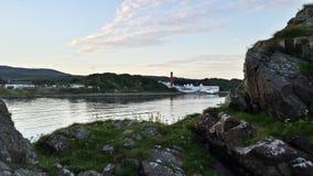 Lagavulin-Bucht Stockbild