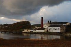 Lagavulin destylarnia, Islay, Szkocja Fotografia Royalty Free