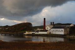 Lagavulin Distillery, Islay, Scotland Royalty Free Stock Photography