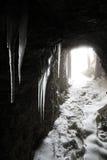 Lagazuoi战争场面,白云岩,意大利 免版税库存图片