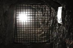 Lagazuoi战争场面,白云岩,意大利 库存照片