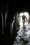 Lagazuoi war scene, Dolomites, Italy Stock Images