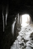 Lagazuoi war scene, Dolomites, Italy Royalty Free Stock Images