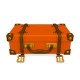 Lagd klassisk bagageframdel Arkivbild