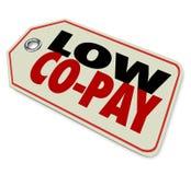 Lage Co-Loon Verzekerings Aftrekbare Betaalbare Gezondheidszorg royalty-vrije illustratie