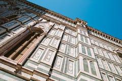 Lage de hoekmening van DuomoSantamaria del fiore in Florence, Italië royalty-vrije stock fotografie
