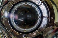 Lage dichte straalkoplamp royalty-vrije stock afbeelding