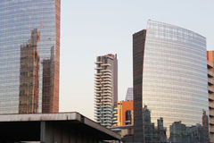 Lage lichten op Milaan Royalty-vrije Stock Foto's