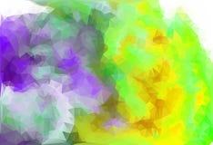 Lage poly driehoekige achtergrond Royalty-vrije Stock Afbeeldingen