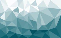 Lage poly gekleurde achtergrond Stock Afbeeldingen