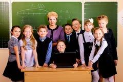 Lage school stock fotografie