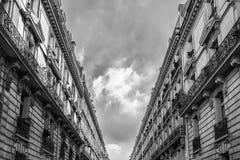 Lage stijging het leven flats in Parijs, Royalty-vrije Stock Foto