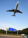 Lage vlucht Stock Foto's