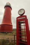 Lage vuurtoren van IJmuiden Lighthouse Royalty Free Stock Images