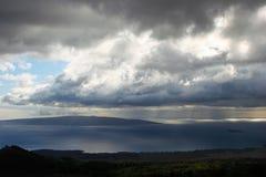 Lage wolkenvorming Stock Afbeeldingen
