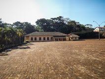 Lageadolandbouwbedrijf, Botucatu, Brazilië stock afbeeldingen