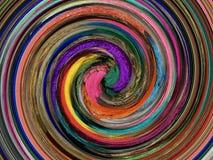 Lagen kleuren Een innovatieve en artistieke verwezenlijking royalty-vrije stock afbeelding