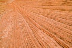 Lagen van bergen in zion nationaal park Stock Fotografie